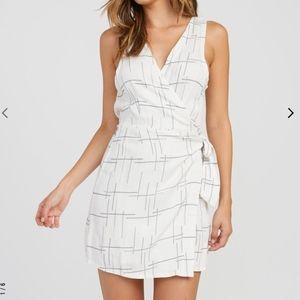 RVCA  Mini Wrap Dress